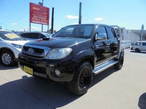 2010 Toyota Hilux KUN26R MY10 SR5 Black 4 Speed Automatic 4D Utility