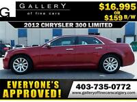 2012 Chrysler 300 LIMITED $159 bi-weekly APPLY TODAY DRIVE TODAY