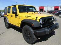 2015 Wrangler Unlimited The New Willy's Edition - Low Payments!