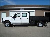 2006 FORD F350 SRW XL CREWCAB 4X4 8FT DECK 160K ONLY $8,900.