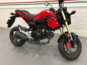 2017 Honda GROM (MSX125) Road Bike 124cc Carlton Melbourne City Preview