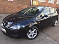 Seat Leon 2.0TDI Reference Sport Diesel Manual Black 5 Door 1 Owner FULL HISTORY