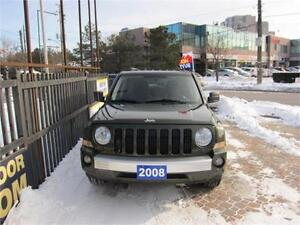 2008 Jeep Patriot Limited-4x4-Heated Seats-Leather-No Accident.