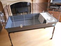 Extra Large Ferplast 120 indoor rabbit guinea pig rat pet cage with stand good clean used condition