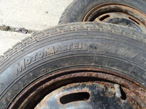 4 Motomaster Tires with Rims for Camry 205/65/15 Edmonton Edmonton Area image 3