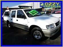 2002 Holden Rodeo TFR9 MY02 LT White 4 Speed Automatic Crewcab Minto Campbelltown Area Preview