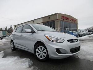 2016 Hyundai Accent GL, A/C, BT, HTD. SEATS, LOADED, 24K!