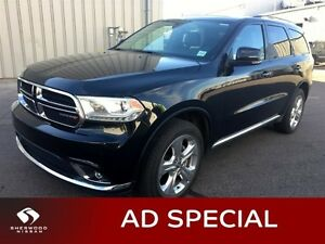 2015 Dodge Durango LIMITED AWD Accident Free,  Rear DVD,  Leathe