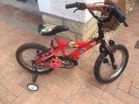 Red 16 Inch Bike