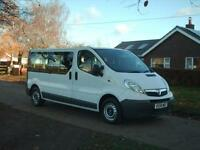 Vauxhall VIVARO COMBI LWB 9 seat minibus NO VAT