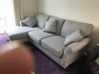 Next Ashford settee/chaise and love seat