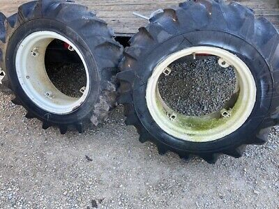 Farmall International 340 Utility Tractor Ih Rims Rim 12.4 X 24 Tires