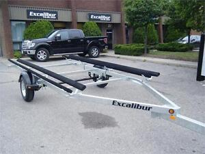 Pontoon Boat Trailer - 2200lb Capacity up to 21 ft.