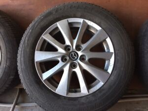 "17"" Alloy Wheels with 225/65R17 all season tires"