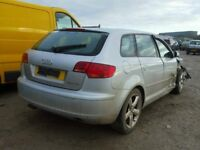 AUDI A3 1.9 AND 2.0 TDI 2006 BREAKING FOR SPARES TEL 07814971951 FOR SPARES ALL BREAKING