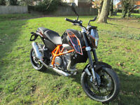 KTM DUKE 690 2015 MOTORCYCLE
