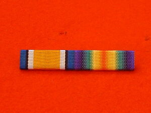 World-War-1-British-War-Medal-Victory-medal-Ribbon-Bar
