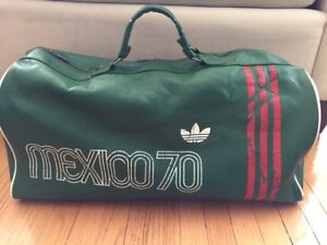 Vintage 1970 Mexico World Cup Adidas Duffle Bag