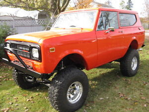 1980 International Scout II Ground Up Restoration