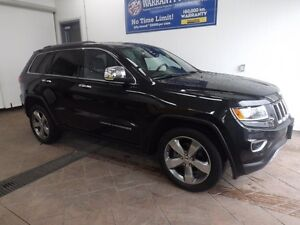 2014 Jeep Grand Cherokee Limited 4x4 LEATHER SUNROOF