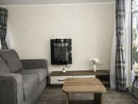 Cheap new 2 bed static with patio doors, fitted kitchen and walk-in wardrobe