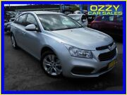 2015 Holden Cruze JH MY15 Equipe Silver 6 Speed Automatic Sedan Penrith Penrith Area Preview