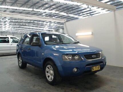 2004 Ford Territory SX TX (RWD) Blue 4 Speed Auto Seq Sportshift Wagon