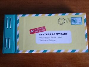 Letters to My Baby Keepsake