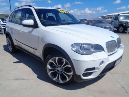 2010 BMW X5 E70 MY11 xDrive40d Steptronic Sport White 8 Speed Sports Automatic Wagon