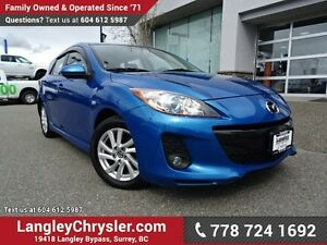 2013 Mazda Mazda3 GS-SKY ACCIDENT FREE w/ LEATHER, SUNROOF &...