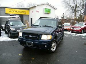 2004 FORD EXPLORER SPORT TRAC,XLT,CUIR,TOIT OUVRANT