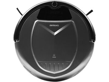 Infinuvo Robotic Vacuum Cleaner with HEPA Filter Home Charging Station