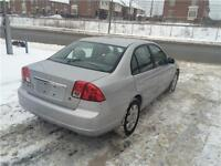 2003 HONDA CIVIC 1.7 L,AUTOMATIQUE FULL,DEMARREUR,140000 KM