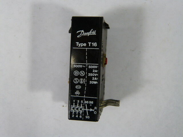 Danfoss TI-16C-047H020400 Thermal Overload Relay .60-.92amp  USED