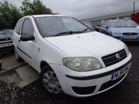 2005 54 reg fist punto active 1.2 8v 3 door mot for 1 year good we cheap car £550