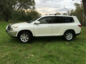 2013 Toyota Kluger GSU45R MY13 Upgrade KX-R (4x4) 5 Seat White 5 Speed Automatic Wagon Coonamble Coonamble Area Preview