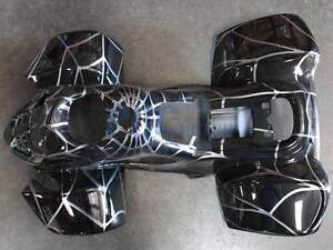 BODY PLASTIC FENDER 50cc 70cc 90cc 110cc  ATV QUAD 3050C Spider Black M APS03