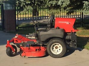 gravely lawn mower