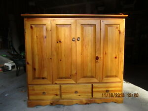 Pine TV Cabinet for sale
