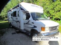 Class C Coachmen Concord 270ss on Ford E450 28' V-10 Chassis
