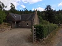 Idyllic 2/3 Bedroom Detached Cottage in beautiful rural location 10 mins from Banchory