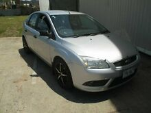 2008 Ford Focus LT CL Silver 5 Speed Manual Hatchback Kippa-ring Redcliffe Area Preview