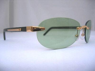 PORTA ROMANA GLASSES Sunglasses Green Lens Model 1007 Color 100 Authentic New