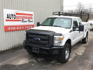 2014 FORD SUPER DUTY F-350 SRW XL -- DIESEL --