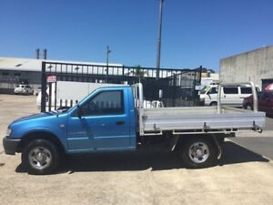 2002 Holden Rodeo TF R9 LOW KLMS MANUAL PETROL LX Blue 5 Speed Manual Utility