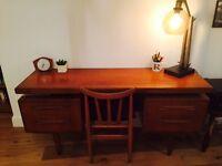 G Plan mid century desk. Excellent condition