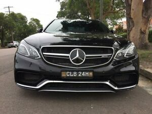 2014 Mercedes-Benz E63 W212 AMG Black Sports Automatic Sedan Sandgate Newcastle Area Preview