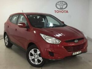 2011 Hyundai ix35 LM MY11 Active Red 5 Speed Manual Wagon West Ryde Ryde Area Preview
