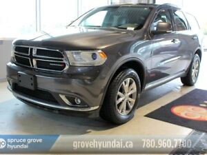 2015 Dodge Durango LIMITED-LEATHER 7 PASSENGER 4WD SUNROOF LOADE