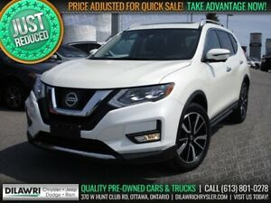 2017 Nissan Rogue SL AWD | Navigation, Leather, Pano-Sunroof